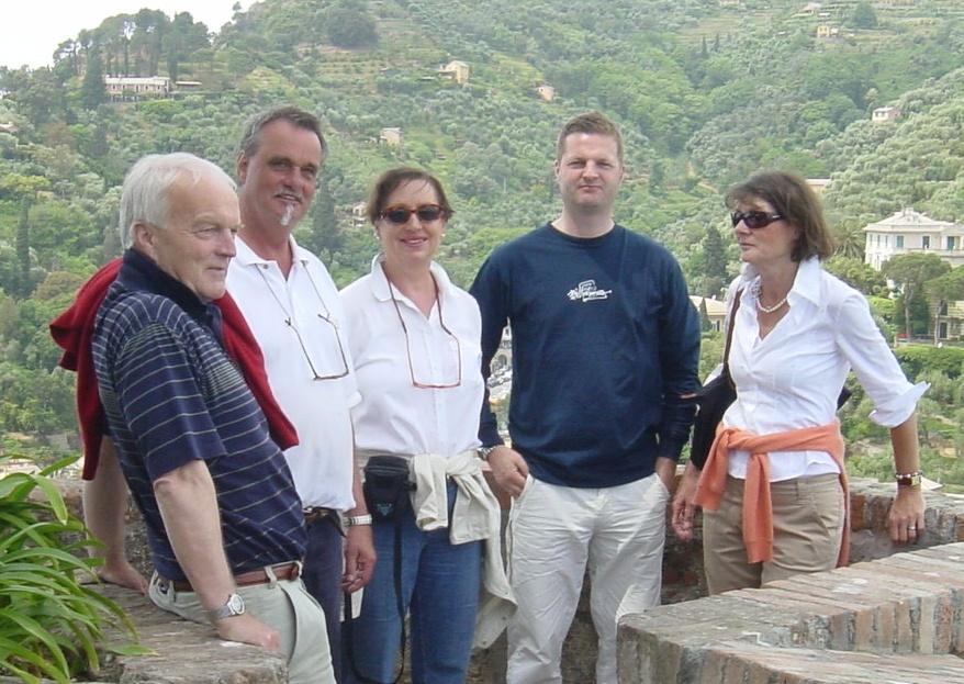 Portofino 2006 Ibi und Hildegard mit den Stemmlers