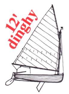 Riss 12ft Dinghy - Vorlage für Dinghy Logo